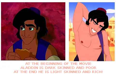 Subliminal sex on animated movies